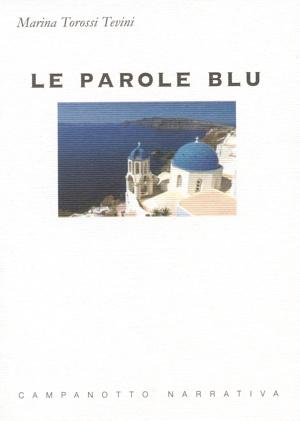 copertina le parole blu