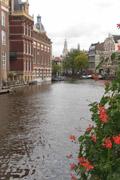 Amsterdam verso Munt plain
