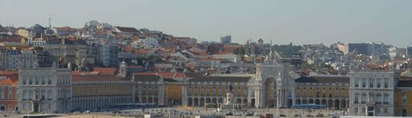 Lisbona praca do comercio