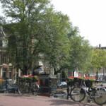 Amsterdam canale bici