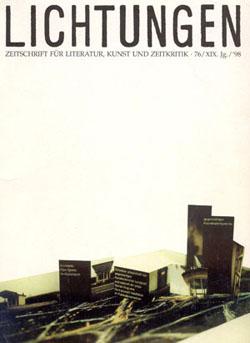 copertina Lichtungen