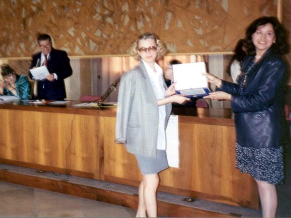 Premio Santa Chiara 1995