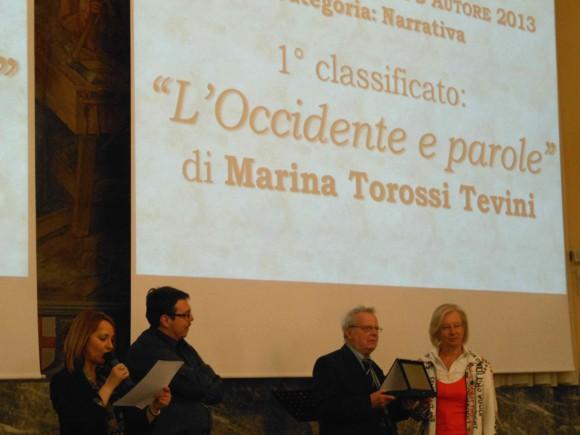 Premio Alexandria Contemporanea Autore 2013