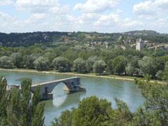 Avignon – Rodano e ponte di Benazet