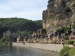 La Roque Gageac sulla Dordogna