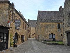Beynac borgo interno