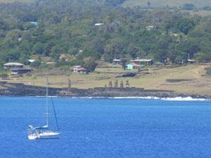 Isola Pasqua Hanga Roa Ahu Tahai