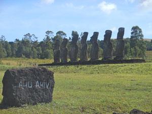 Isola Pasqua Ahu Ahivi