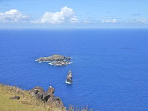 Isola Pasqua Motu Nui, Iti, Kau Kau